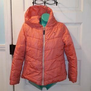 BLUE Tommy Hilfiger Big Boy Detachable Hooded Puffer Jacket  2T,3T,4,5//6 BLACK